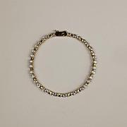 9ct Yellow Gold & Topaz Tennis Bracelet