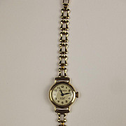 1961 9ct Yellow Gold Ladies Rotary Wristwatch