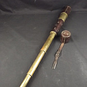 1917 Four Draw British Military Telescope By R. & J. Beck. Ltd