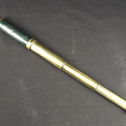 Circa 1900 Pocket Three Draw Telescope