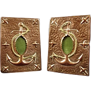Pair Of Arts & Crafts Copper Frames