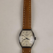 Longines Stainless Steel Automatic Wristwatch With Case