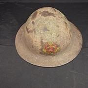 1915 Pattern Type A Brodie Helmet Middlesex Regiment