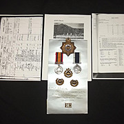 South Africa And Good Conduct Medal Set Of RMLI Pte J.J. Seymour Portsmouth Div