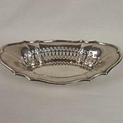London 1918 Silver Bon-Bon Dish