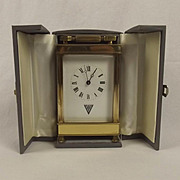 1995 VE/VJ 50th Anniversary Brass Carriage Clock