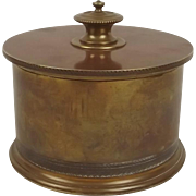 Trench Art Shell Case Tobacco Jar