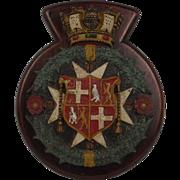 Malta Dockyard Bronze Gate Badge