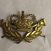 Victorian Household Cavalry Trumpet Major Badge
