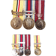 Elizabeth II Iraq And Afghanistan Medal Set Of Cpl Elliot