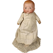 Early 20th Century Armand Marseille German Bisque Head Crying Doll