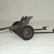 Hausser Post War Tin Plate Toy Model No. 719 Large Anti-Tank Gun