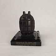 WW1 Mills Cast Inkwell