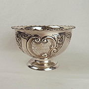 1899 London Silver Decorative Presentation Bowl – Bucks Free Press