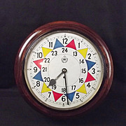 Original 1940 WW2 RAF Operations Room Sector Wall Clock
