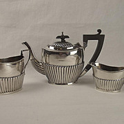Birmingham 1924 Three Piece Silver Tea Set