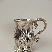 Birmingham 1861 Victorian Small Silver Tankard