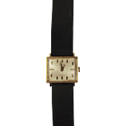 18ct Yellow Gold Gents Omega Wrist Watch