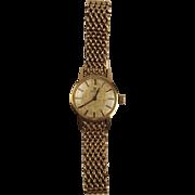 9ct Gold Ladies Omega Wristwatch