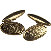 Pair Of 9ct Gold Cufflinks