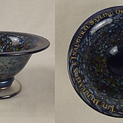 Isle Of Wight Studio Glass Finger Bowl – MV St Clare 2001