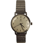 Gents Stainless Steel Omega Wrist Watch