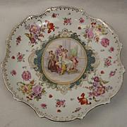 Large Austrian Porcelain Dish - Kaufmann