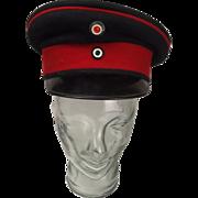 WW1 Prussian Infantry NCO Visor Cap