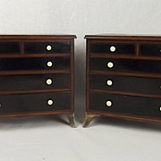 Pair Of Gillows Miniature Chests of Drawers