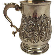George III Silver Christening Mug London 1767