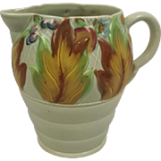 Clarice Cliff Leaf & Berry Design Water Jug