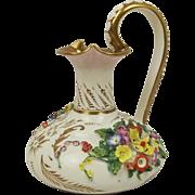 Circa 1820s Derby Porcelain Jug