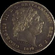 1819 George III Silver Crown, LIX