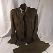 WW2 Period Named Royal Artillery No. 2 Uniform