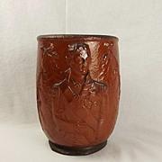 19th Century Lord Nelson Salt Glaze Pottery Jardiniere