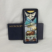 Boxed Moorcroft Ceramic Winds of Change Pattern Pin Dish 1999