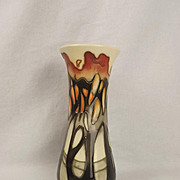 Boxed Moorcroft La Garenne Vase - Emma Bossons 2005