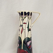 Boxed Moorcroft Pouring Jug Tribute To Charles Rennie Makintosh  1995
