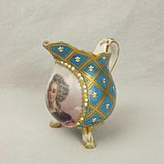 Circa 1773 Sevres Porcelain Milk Jug