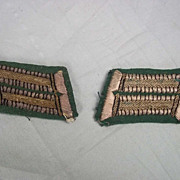 WW1 German Officers Collar Tabs (Pair)