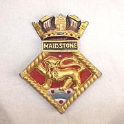 HMS Maidstone, Aluminium Ships Crest