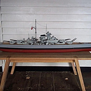 Bismarck Model Use In The Film 'Sink the Bismarck!' (1960)
