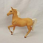 Beswick Prancing Arab Horse Figurine In Palomino Matt Finish Model No. 1261 2nd Version