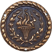 WW1 - WW2 HMS Renown, Bronze Ships Crest – Boat Badge