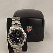 Gents Tag Heuer Diamond Bezel Professional Divers Watch Model No. CN1110