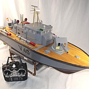 Scratch Built Radio Control Model Of V40 Patrol Boat