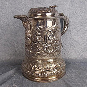 Circa 1688 James II Silver Lidded Tankard