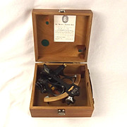 1975 Cased Heath & Company Hezzanith Three Circle Frame Sextant