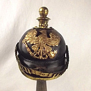 WW1 M1891 Prussian Artillery Officers Pickelhaube Helmet
