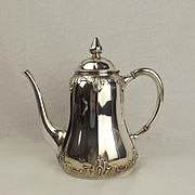 Mid 20th Century German Silver Coffee Pot